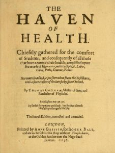 Thomas Cogan (1545-1607): Brown bread is good for the digestion