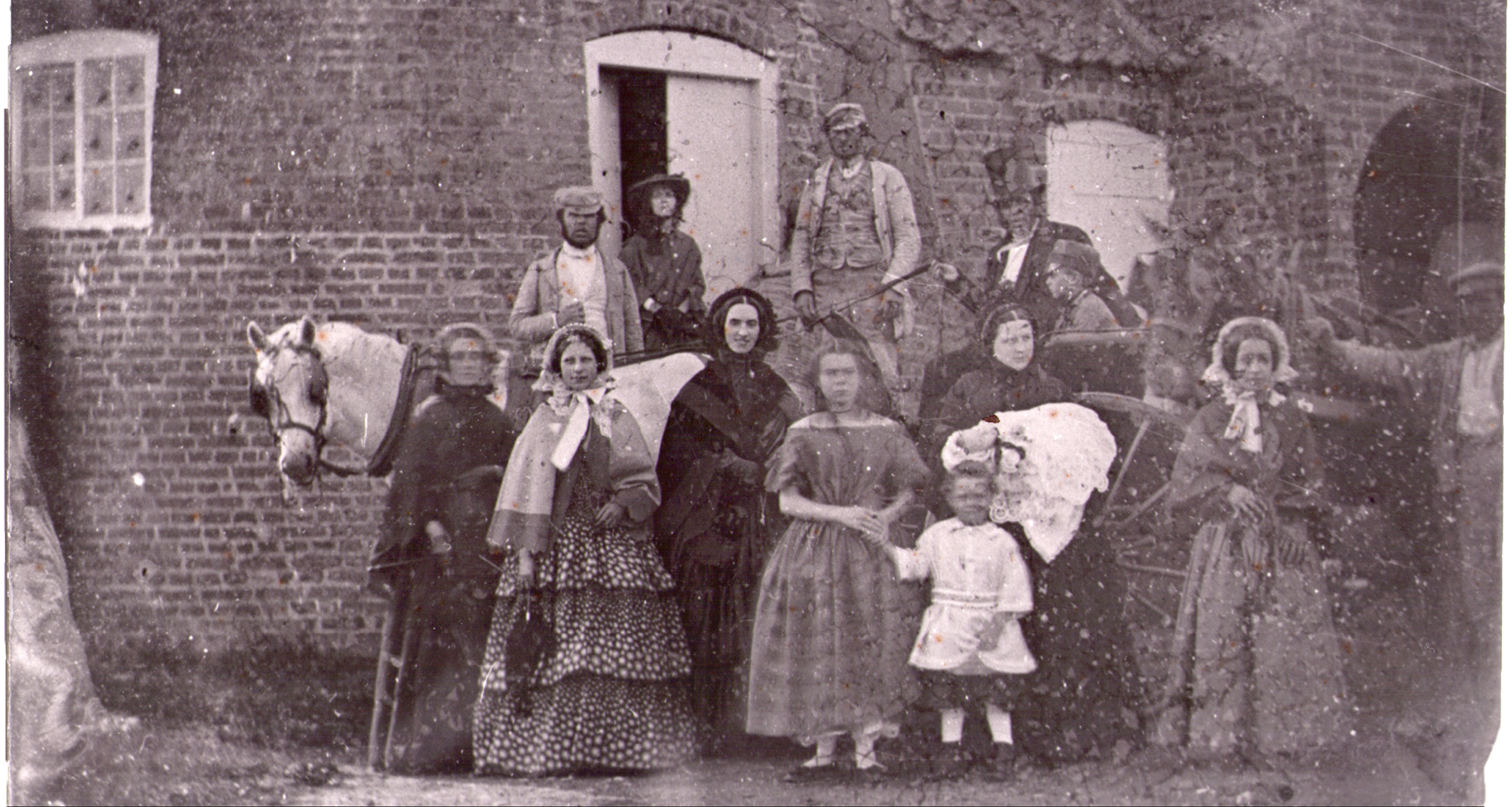 The Robinson family - Winterton Mill Lincs 1885