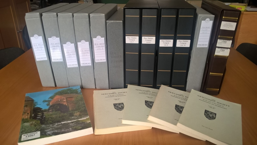 The complete Rex Wailes Finland Collection at The Mills Archive
