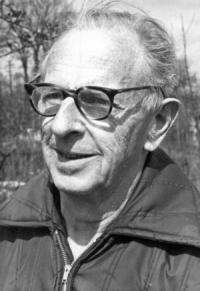 Stanley Freese. Photo Brian Flint, 1971.