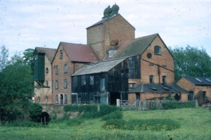 Great Alne mill, Derek's workshop