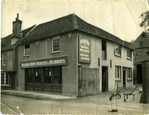 Holman Brothers offices, Dover Street, Canterbury