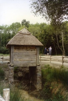 Reconstruction of a Medieval Irish horizontal watermill