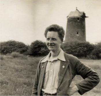 Harry Meyer at Blackthorn, 12 June 1931. Photograph by Doris Meyer.