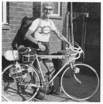 Arthur and his bike
