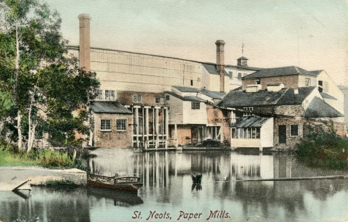 St Neots Paper Mill, 1897
