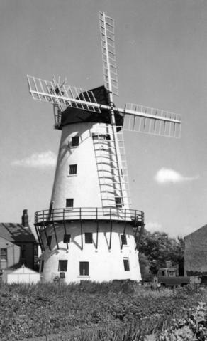 Postcard of the mill c 1905